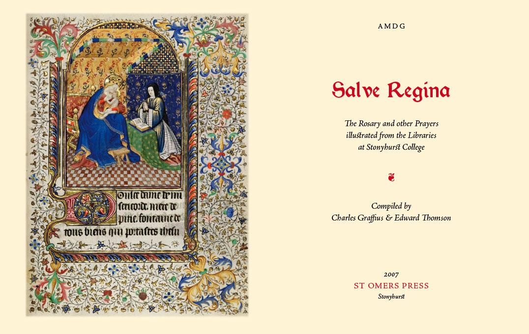 Salve Regina: Title Page